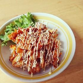 豚キムチマヨ丼