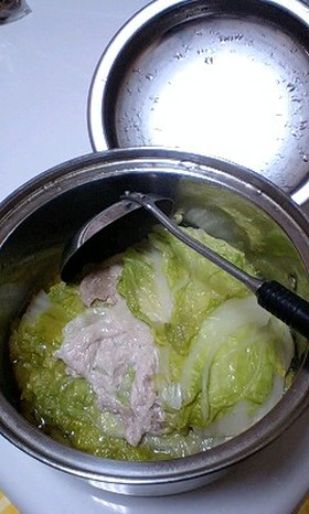簡単!白菜と豚肉の煮物