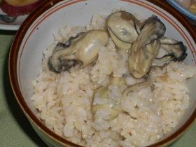 ★ぷっくりジューシー 牡蠣ご飯☆