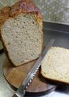ふくらむ!低糖 大豆粉ふすまパン(HB)