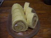 バナナロールケーキの写真