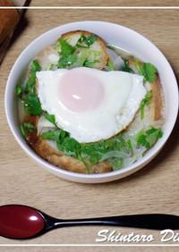 シンプルな☆コリアンダーとパンのスープ☆