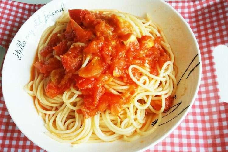 缶 パスタ トマト 簡単すぎ!でも、本格イタリアンなトマトパスタ♪ レシピ・作り方