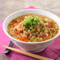 勝浦タンタン麺風 ピリ辛そぼろ麺