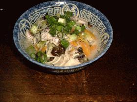 ジャコごま入りチャンポン麺