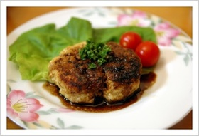 イタリアン風 お豆腐ハンバーグ