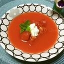 ☆トマトとすいかの冷製スープ☆