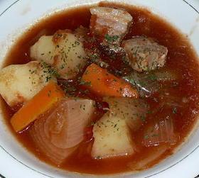 洋風角煮じゃが、圧力鍋で簡単トマト煮込み