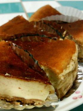 シナモンベークドチーズケーキ