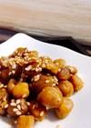 ひよこ豆のホクホク甘納豆風簡単で高評価よ