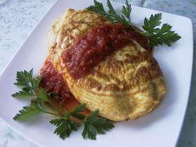 基本のトマトオムライス