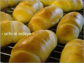 手捏ねパン♪ミニ☆ドッグパン