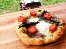ピザ生地☆家で仕込んでキャンプで食べよう