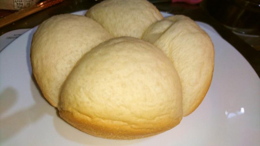 3合炊飯器で!ふわっふわ手捏ねパン