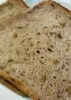 米粉入り餡子と胡桃の食パン(HB)
