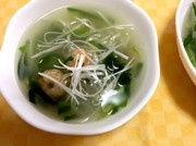 簡単♪ヘルシー春雨スープの写真