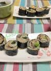 コストコ☆プルコギ炒飯の海苔巻き