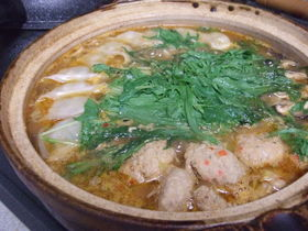スープまで全部飲めちゃう♪美味しい味噌鍋