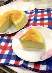 絶品★スライスチーズでスフレチーズケーキ