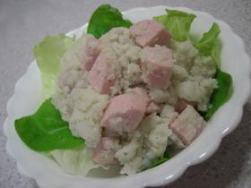 炊飯器使用☆里芋&ソーセージサラダ♪