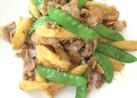 豚肉とヤングコーンのカレー炒め