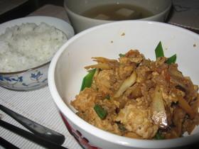 炒り豆腐 ひき肉入り