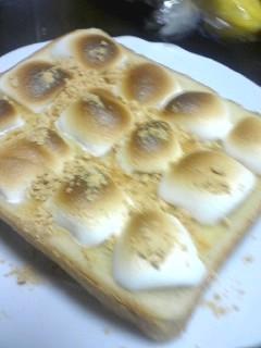 甘じょっぱい★マシュマロトースト