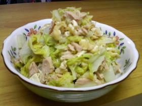 10分で!白菜とツナのさっと煮