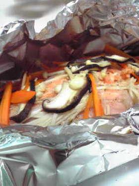 ☆簡単レシピ 鮭のホイル焼き☆
