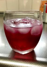 疲労回復!クエン酸で母の紫蘇ジュース