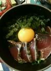 staubde海ぶどうとカツオの簡単丼