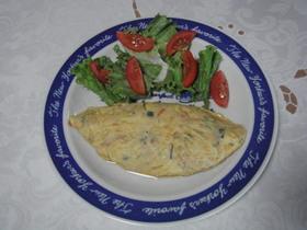 菜脯蛋(切り干し大根入り卵焼き)