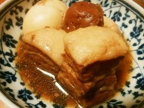 豚バラ肉の梅角煮