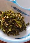 茶葉の佃煮