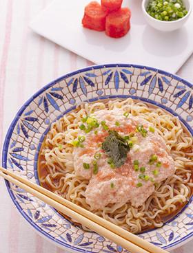 明太豆腐ラーメン
