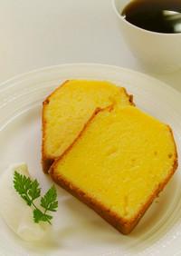 ソフトな食感!口溶け抜群のパウンドケーキ