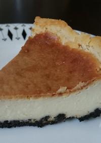 卵&生クリーム不要しっとりチーズケーキ
