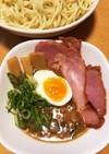 【彩り肉味噌で】濃厚魚介醤油の本格つけ麺