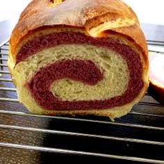 【時短パン】湯種リッチぐるぐる食パン
