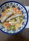 野菜たっぷり  食べるスープ
