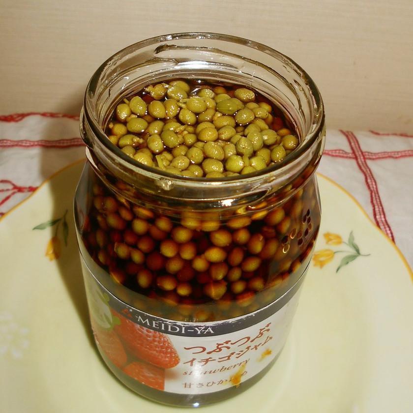 山椒の実の醤油漬け