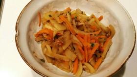 大根とシーチキンの煮物