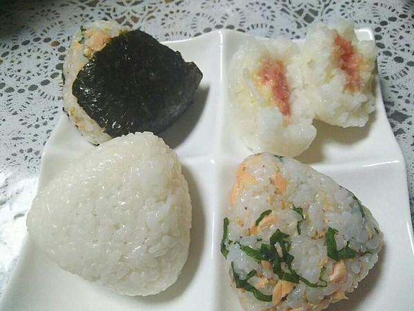 ★マヨご飯★昆布・鮭・明太子のお握り★