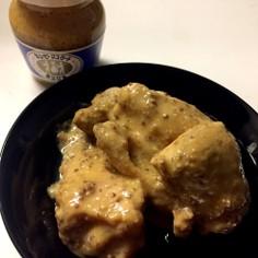 簡単すぎっ!鶏肉のマスタードソース