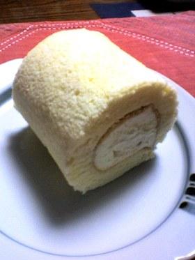 たまご1こでロールケーキ
