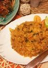 タイ米deキムチ炒飯