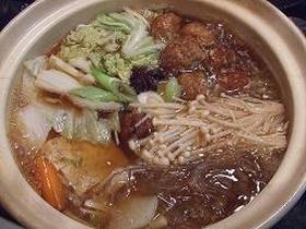 肉団子と春雨鍋(香り豊かな中華風♪)