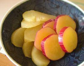 お鍋一つで簡単おやつ☆さつまいも林檎煮☆