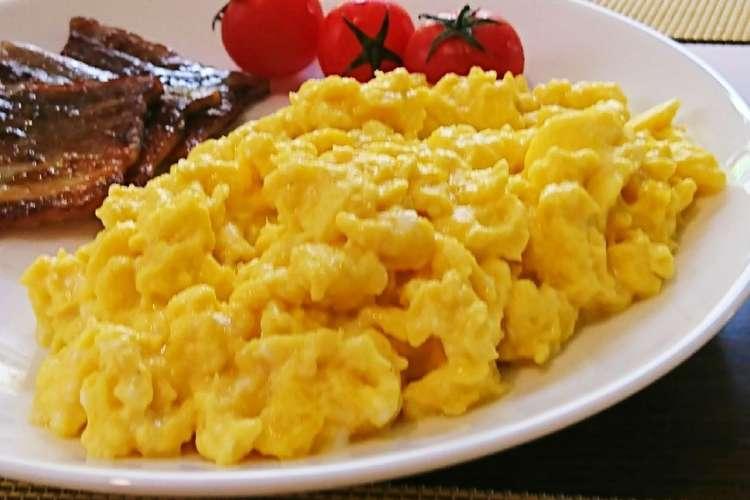 ホテル スクランブル エッグ 【家でホテルの朝食を】シェフが教える「本格スクランブルエッグ」の...