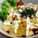 簡単柔らか鶏胸肉と玉葱のお酢でサッパリ丼